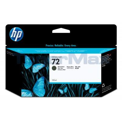 HP NO 72 INK MATTE BLACK 130ML